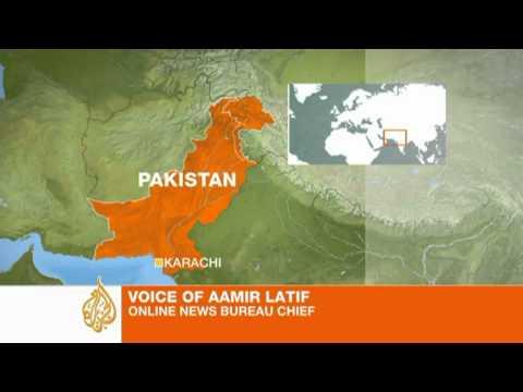 Pakistani naval base under attack