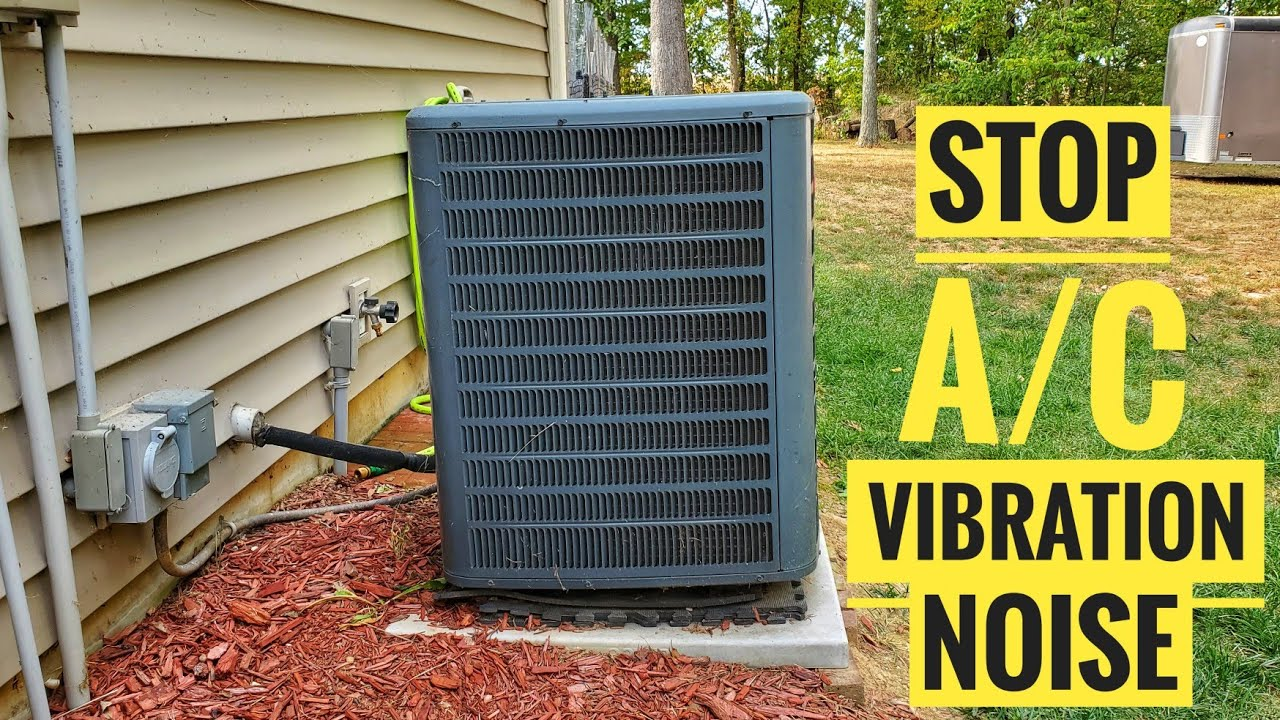 How To Stop Air Conditioner Vibration Noise Amazon Cork