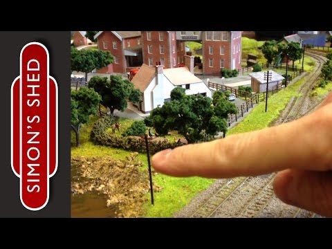 N Gauge Model Railway Layout Update: Bodenham Woods 16