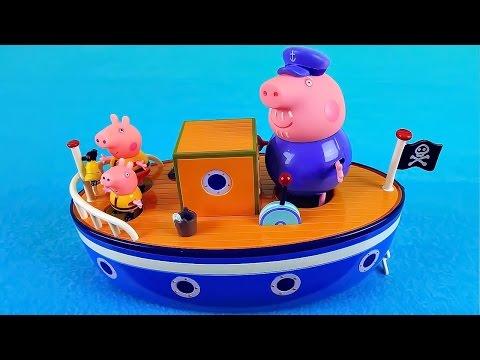 😅 Свинка Пеппа неправильные головы Мультик из игрушек Wrong Heads Peppa Pig на русском для детей