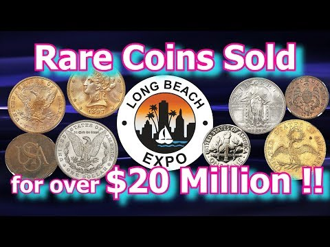 Rare Coins Worth Millions Sold At 2018 Long Beach Auction