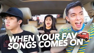 Download Video When Your Fav Songs Comes On | Ranz and Niana ft Motoki MP3 3GP MP4