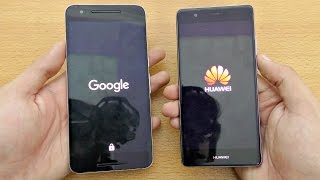 Huawei P9 vs Nexus 6P - Speed Test! (4K)