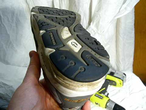 How I Add Screws To My Running Shoes For Traction On Ice And Packed Snow Youtube