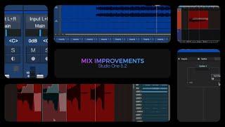 Studio One 5.2: Mix Improvements