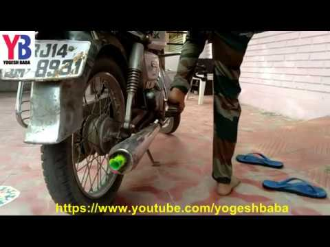 How to change motorcycle silencer sound best technology