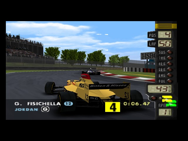F-1 World Grand Prix (N64) Speedrun 100% Challenge Mode