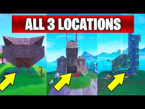 Visit a wooden rabbit, a stone pig, and a metal llama : FORTNITE SEASON 8 WEEK 6 CHALLENGES GUIDE