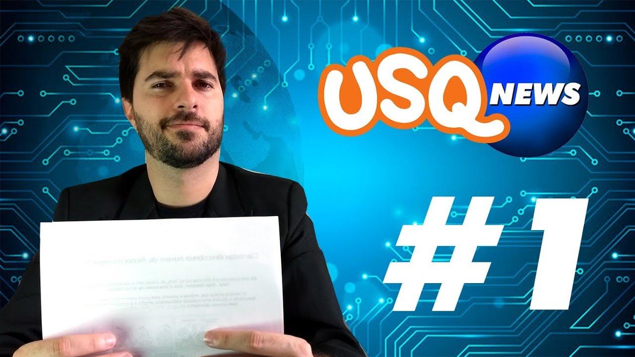 USQ News #1 - As notícias mais loucas do reino de Deus