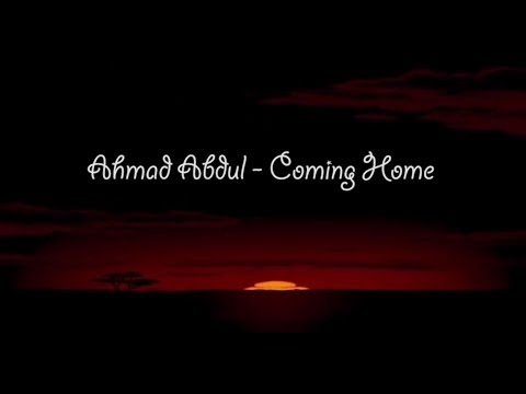 Ahmad Abdul - Coming Home [ Disney Music Video Ver. ] Animation