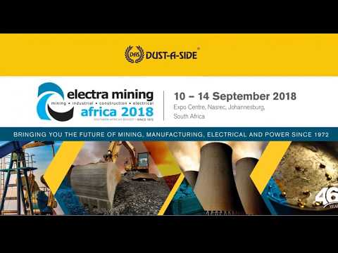 Dust-a-side Electra Mining Expo 2018 Highlights