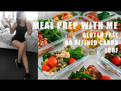 MEAL PREP WITH ME: no refined carbs + gluten free // Rachel Aust