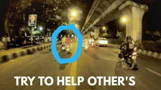Real life hero's || Biker helping other's || Faith in humanity