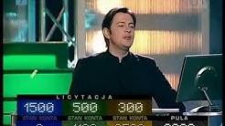 Awantura o kasę (62) - start rekordzistów