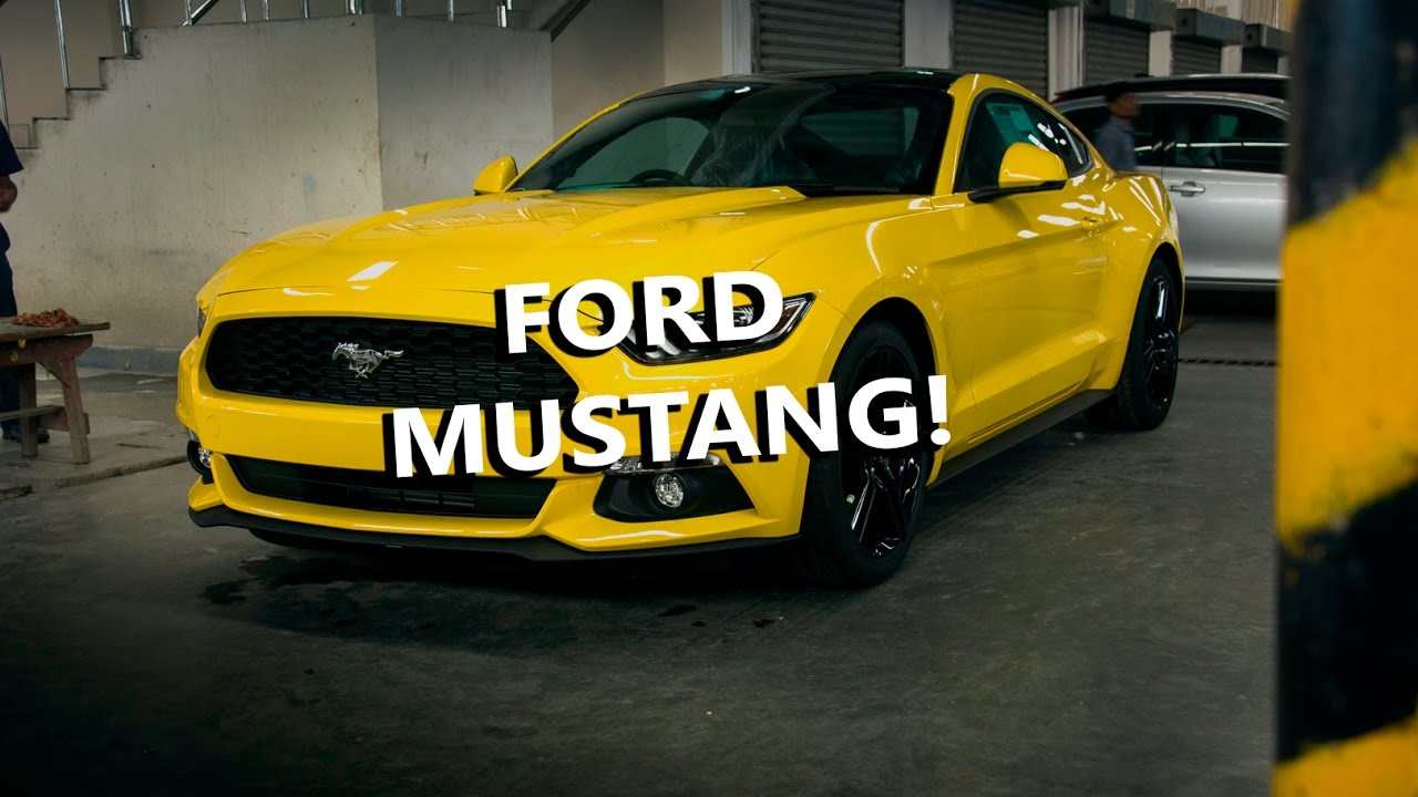 Ford mustang ecoboost in bangladesh