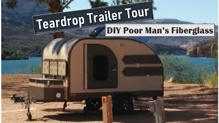 Home Built Teardrop Camper (Poor Man