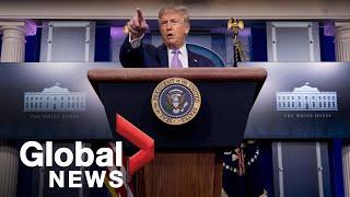 "Coronavirus: Trump praises Arizona as ""promising model"" for COVID-19 response | FULL"