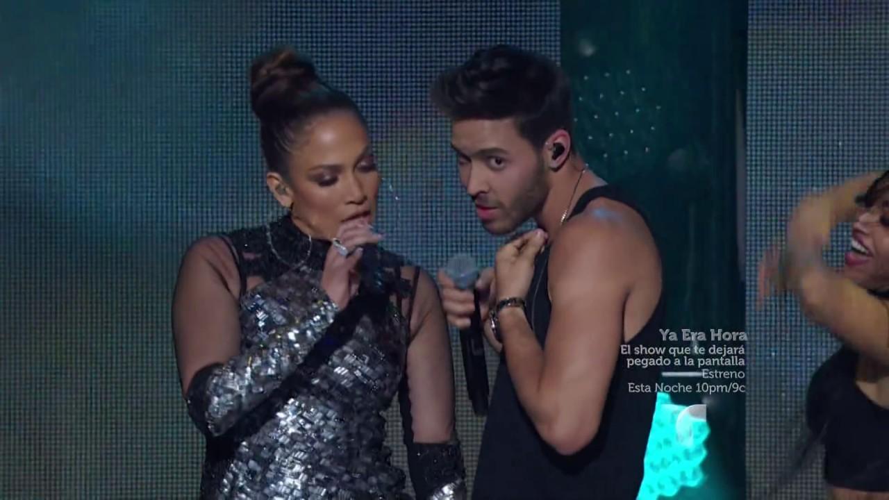 Prince Royce feat Jennifer Lopez - 'Back it Up' Live at iHeartRadio Fiesta Latina (Full HD)