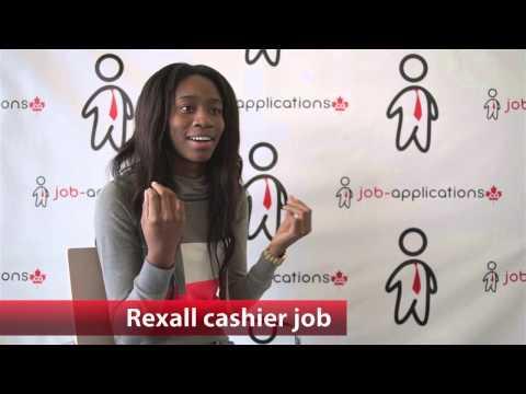 Rexall Cashier Job