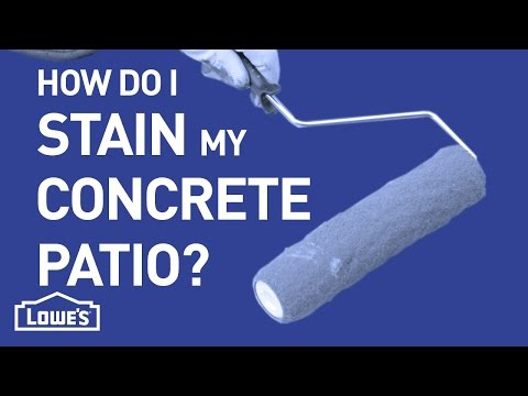 How Do I Stain Concrete? | DIY Basics