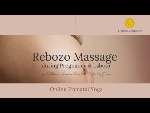 Rebozo Massage for Pregnancy & Labour (English) @studio Vandaan -