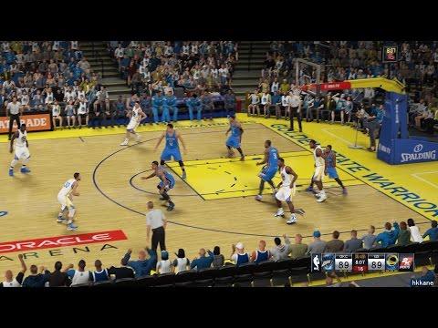 NBA 2K15 Oklahoma City Thunder Vs Golden State Warriors 05-01-2015