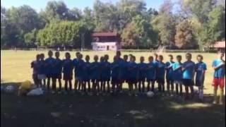 Підшефна футбольна команда «Інтергал-Буд» співає гімн(, 2016-08-26T07:07:03.000Z)