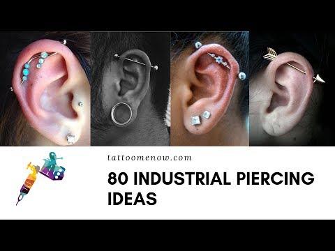 80 INDUSTRIAL PIERCINGS IDEAS (2019)