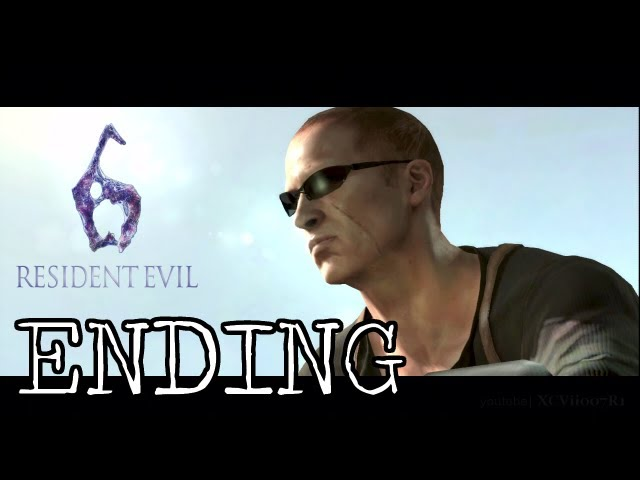 Resident Evil 6 Jake Campaign Ending Youtube