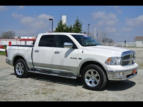 2009 dodge ram 1500 laramie truck crew cab for sale dealer dayton troy. Cars Review. Best American Auto & Cars Review