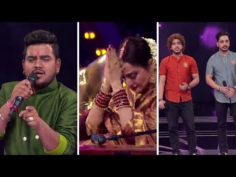 In Aankhon Ki Masti Ke - Hemant Brijwasi, Akhtar Brothers | Rekha | Rising Star Season 2