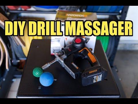 """diy-""""drill""""-massage-gun!---percussive-massager"""