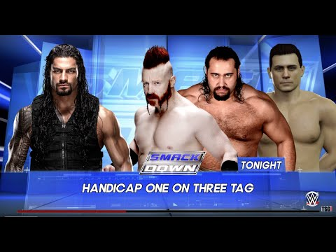 SmackDown 1/21/16: Roman Reigns vs. League of Nations WWE 2K16 Simulation