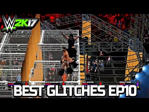 WWE 2K17 Best Glitches & Funny Moments Ep10
