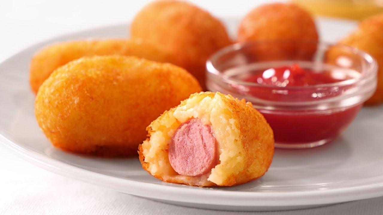 Aperitivos de Salchicha y Patata muy Fáciles y Deliciosos