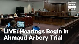 Preliminary Hearings for Ahmaud Arbery Shooting Suspects   LIVE   NowThis