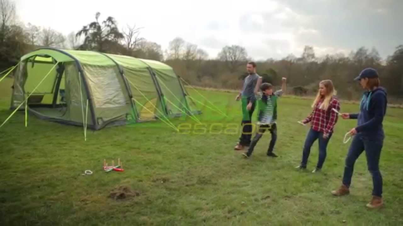 & Urban Escape 6 Person Inflatable Tent - YouTube