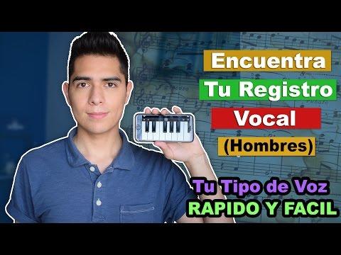Encuentra tu Registro Vocal Rapido y Facil! | Guia Interactiva para encontrar tu Tipo de Voz