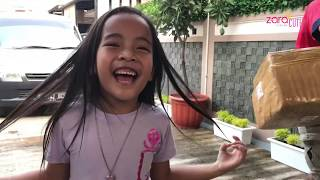 Surprise buat Anak Anak | Zara dan Kenzo HEBOH buka Kado dari Mama | Wooden Pretend Play Kitchen Set