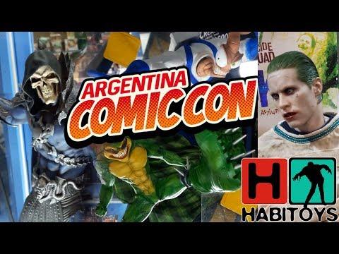 Habi en COMIC-CON ARGENTINA 17!! - Cazando Toys!!
