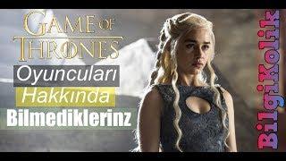 Game of Thrones Oyuncuları Hakkında Bilmedikleriniz