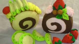 Repeat youtube video Membuat Rollcake Dari Kain Flanel