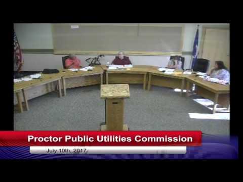 Proctor Public Utilities Commission 2017 07 10