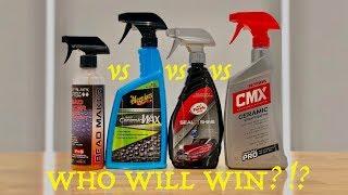 Bead Maker vs Hybrid Ceramic Wax vs Seal n Shine vs CMX + Which one would I Choose?