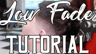 Haircut Tutorial: Low Fade w/ #8 on top