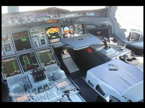 Visitamos El Interior Del Airbus A380 En FIDAE 2012 YouTube