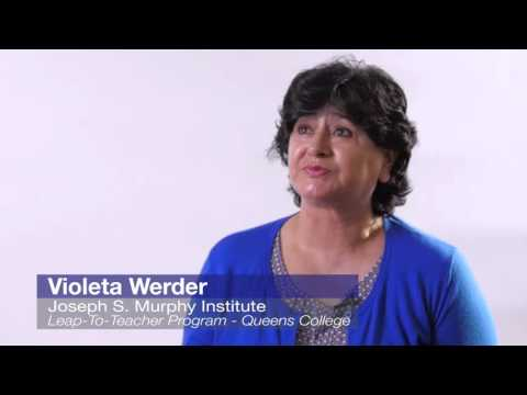 Why choose the Murphy Institute? - Violeta Werner