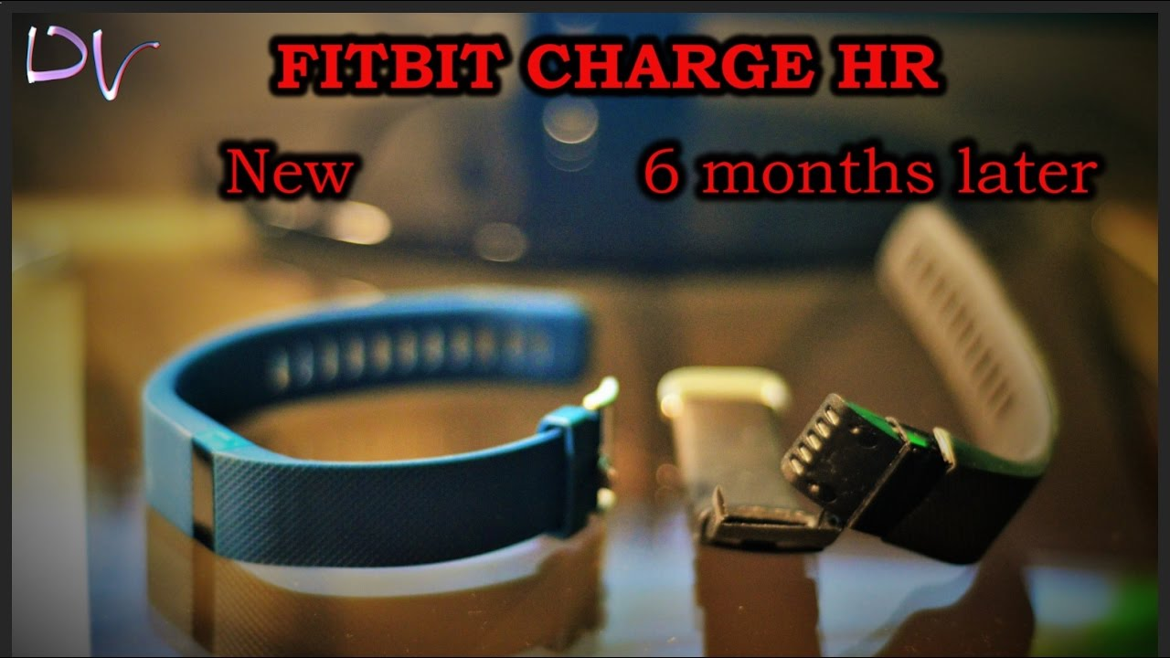 Fitbit charge HR band peels and falls apart