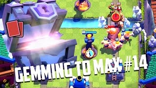 Clash Royale - Gemming to Max Ep. #14: Our First MAXED Epic!