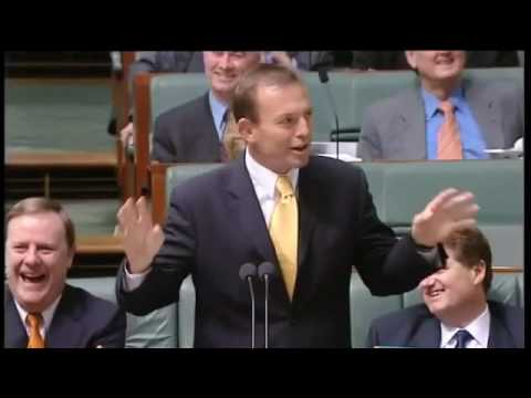 Tony Abbott ridicules Donald Trump in the Australian parliament